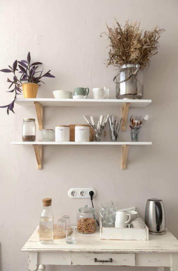 étagère avec idée cadeau accessoire de cuisine