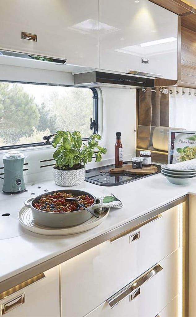 petite cuisine pour camping car ou roulotte