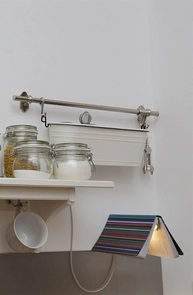 Lampe livre décoration très originale pour votre cuisine