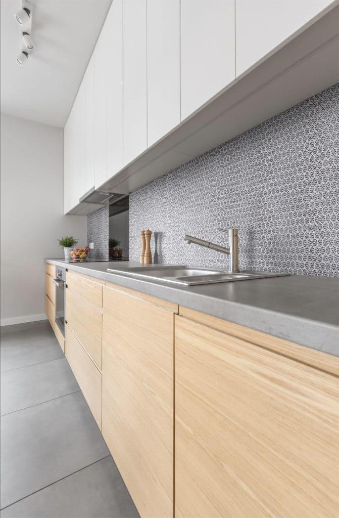 meuble de rangement d'une cuisine moderne