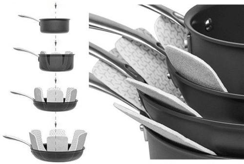 Protections pour casseroles et poêles