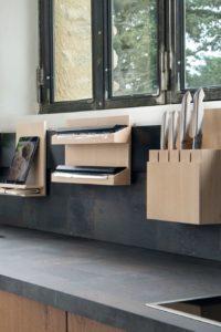 accessoires de cuisine - rangements muraux modulable