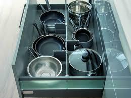 accessoires de cuisine tiroir range casseroles
